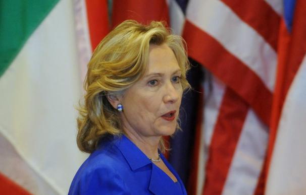 Hillary Clinton telefonea a Netanhayu y anuncia un nuevo encuentro en los próximos días