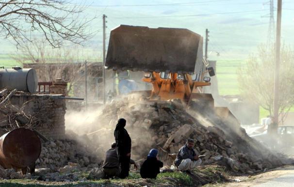 Un muerto y tres heridos en un fuerte terremoto en el sur de Irán