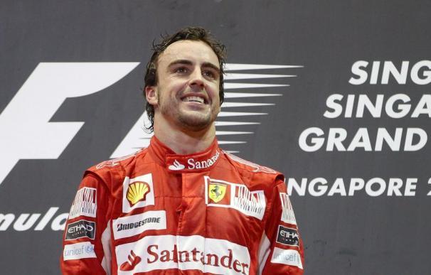 Alonso enfila la recta final del Mundial en su mejor momento