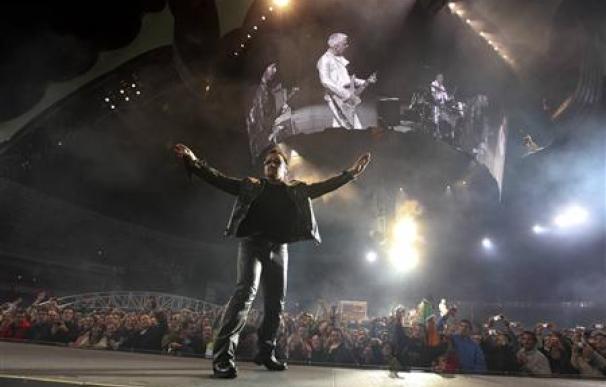 U2 celebra su aniversario en San Sebastián