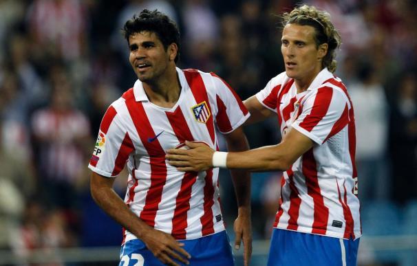 El Atlético gana al Zaragoza y el Sevilla sigue en caída libre