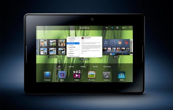 BlackBerry presenta su tablet PlayBook y nuevo sistema operativo