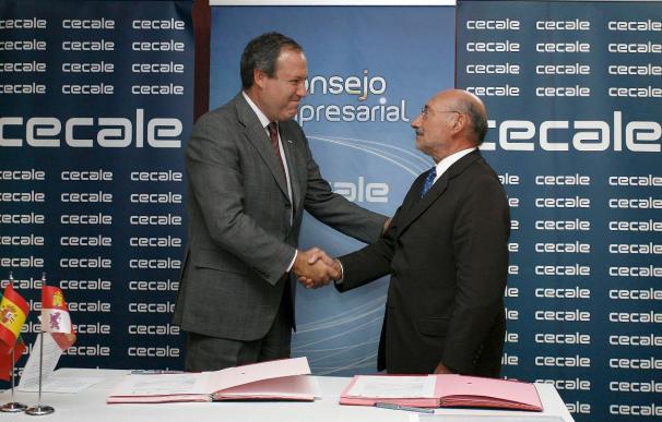 Empresarios de Portugal y Castilla y León firman un convenio sobre cuatro áreas estratégicas