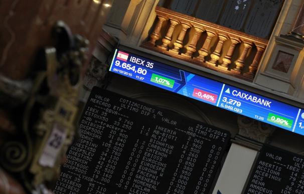 El Ibex sube un 1,27%, a un paso de los 8.600 puntos, y acumula un avance del 5,19% en julio