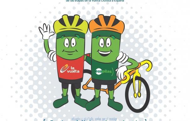 Ecopilas y la Vuelta Ciclista a España promoverán el reciclaje de pilas a lo largo de las 21 etapas de la prueba