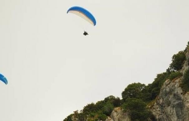 """SEO/BirdLife denuncia """"graves molestias"""" de los parapentes a la colonia de buitres de Monte Candina y Cerredo"""