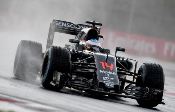 Alonso durante el pasado GP de Hungría