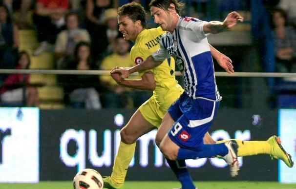 El brasileño Nilmar se aupa al liderato de los goleadores de la Liga