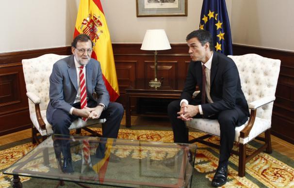 Rajoy y Sánchez se reunirán el próximo martes en el Congreso