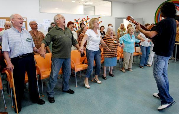 El único coro formado por enfermos de alzheimer actuará en el Palau de la Música