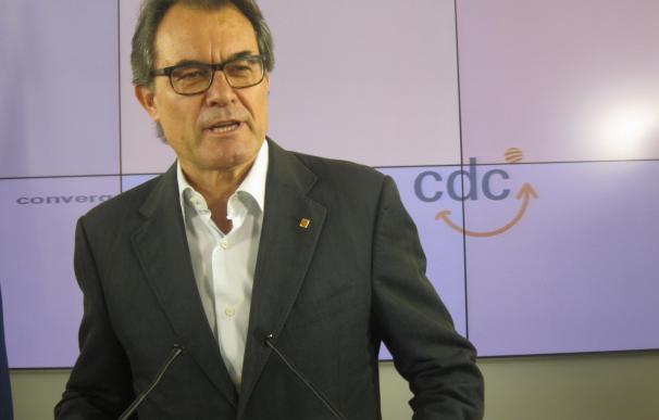 """Artur Mas avisa: se equivocan quienes piensen que Catalunya """"agachará la cabeza"""" ante el TC"""
