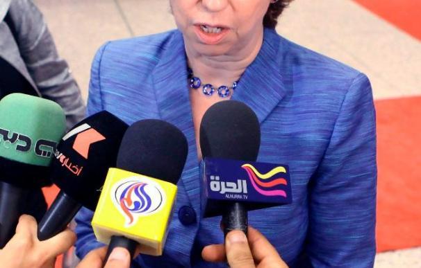 Ashton ve escandaloso que Ahmadineyad acuse a EEUU de los atentados del 11-S