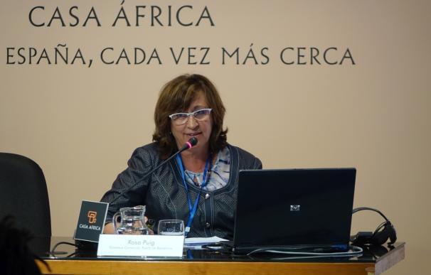 El Puerto de Barcelona presenta su estrategia en una jornada con mujeres africanas del sector