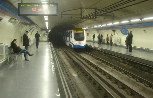 Sindicatos registran paros parciales en Metro de Madrid para San Isidro y la final de la Copa del Rey