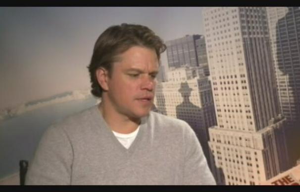 """Matt Damon protagoniza """"Destino oculto"""", una película romántica y de suspense"""