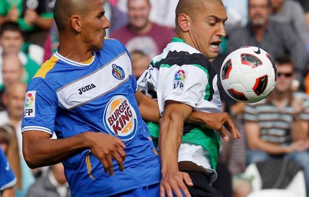 0-1. Víctor dio la victoria al Getafe frente a un rival sin pegada