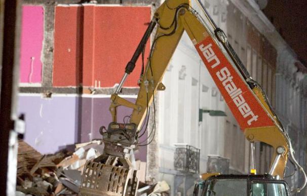 Dos muertos y un desaparecido en una explosión en un barrio de Bruselas