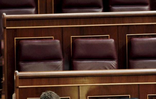 El Congreso repite pleno en día de huelga tras los insultos y pancartas de 2002