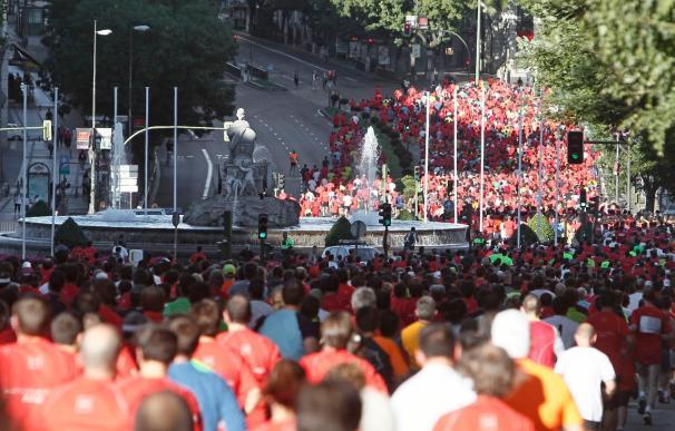 """Cerca de 8.700 corredores recorren la capital en """"Madrid corre por Madrid"""""""