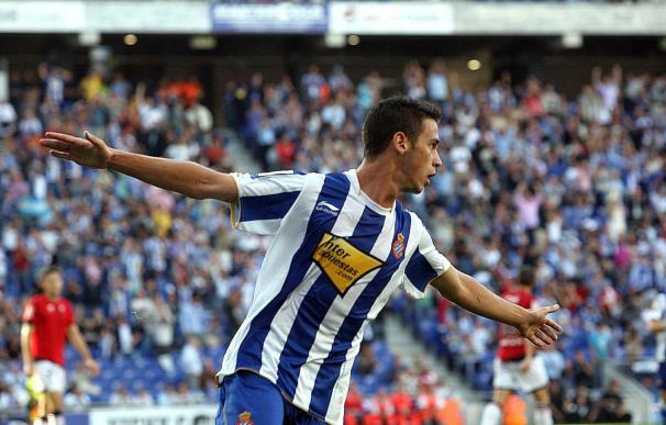 1-0. El debutante Álvaro Vázquez liquida a Osasuna