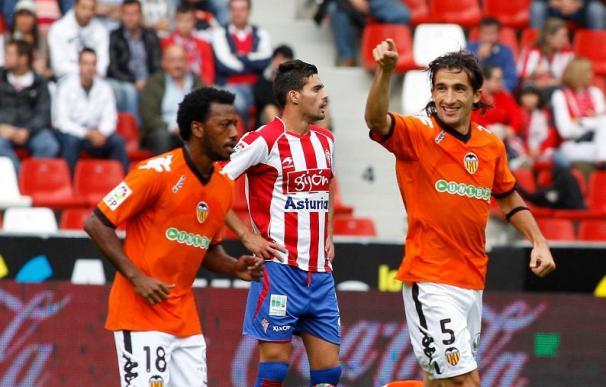 El Valencia aprovecha el tropiezo del Madrid para recuperar el liderato