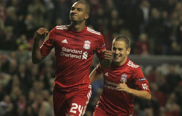 4-1.El Liverpool supera sus dificultades y acaba triunfal sin Torres