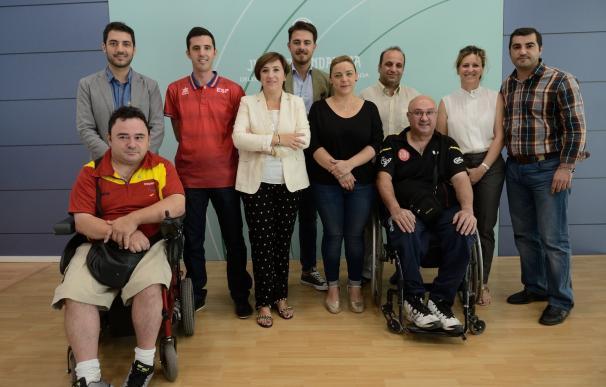 La Junta trasmite sus mejores deseos a los deportistas granadinos en los Juegos Paralímpicos de Río
