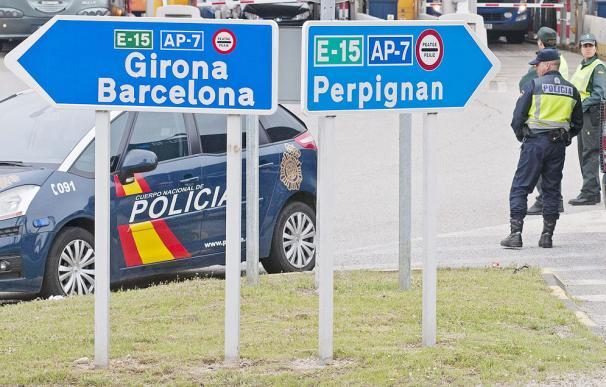 Frontera de España con Francia