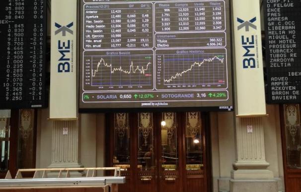 El Ibex esquiva las pérdidas (+0,25%) y reconquista los 10.600 puntos