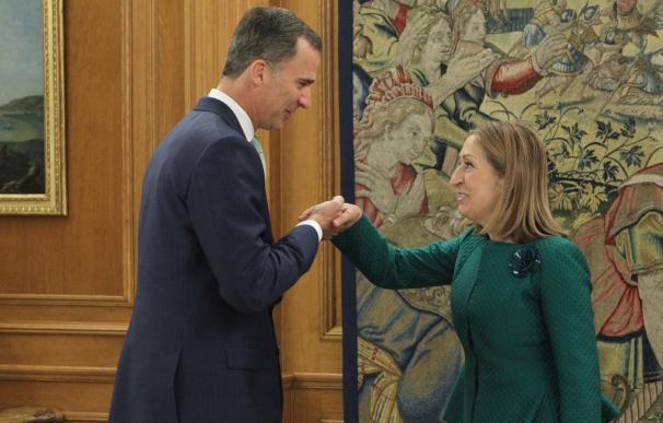 La presidenta del Congreso acude a Zarzuela para que el Rey le comunique su decisión