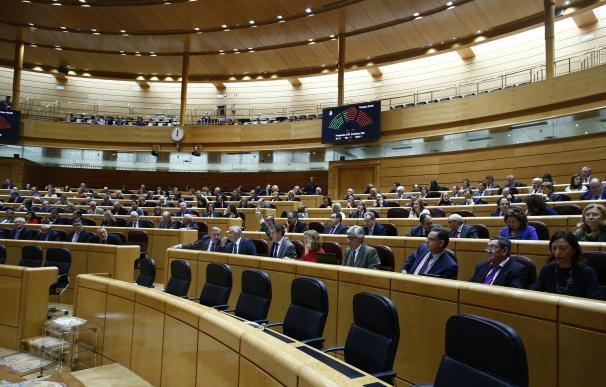 Senadores del PP por La Rioja, Asturias, León y Huesca ceden su escaño al PNV por unas horas para que forme grupo propio