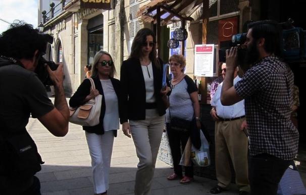 Marina Castaño y los demás investigados por malversación en la Fundación Cela acuden al Juzgado este jueves