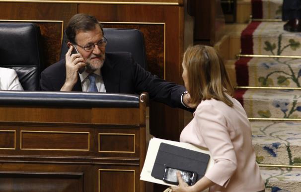 AMPL- Ana Pastor confirma que el Rey ha hecho una propuesta formal de investidura y hablará con Rajoy para fijar plazos