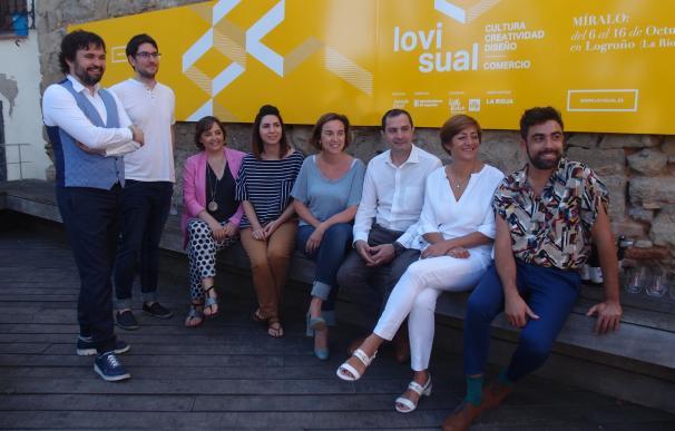 Logroño será una galería abierta al arte en 22 espacios comerciales en el festival Lovisual