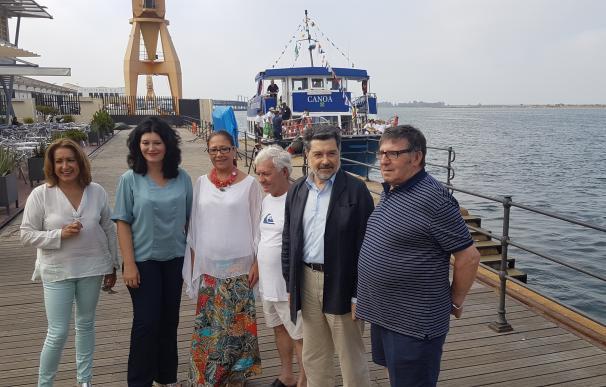 La Junta anima a disfrutar de la canoa de Punta Umbría, recorrido de Interés Turístico de Andalucía