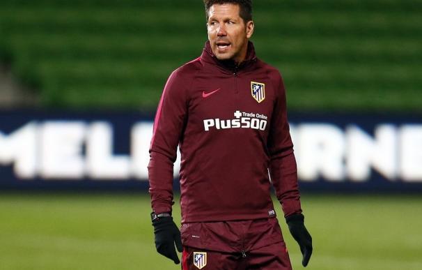 """Simeone: """"El periodo de duelo por la 'Champions' ya ha acabado"""""""