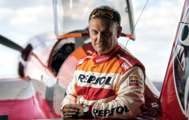 'Marca España' apoyará a Cástor Fantoba en el Campeonato de Europa de vuelo acrobático