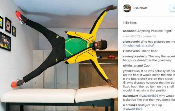 Una foto de Bolt en Río revoluciona las redes ¿es real o un montaje?