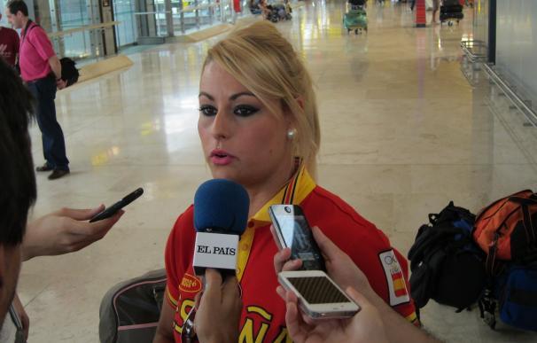 """Lidia Valentín: """"Estoy muy contenta y feliz porque soy campeona olímpica"""""""