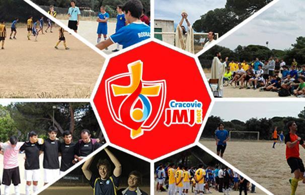 La JMJ celebra un minimundial de fútbol católico donde se marcan goles y se reza