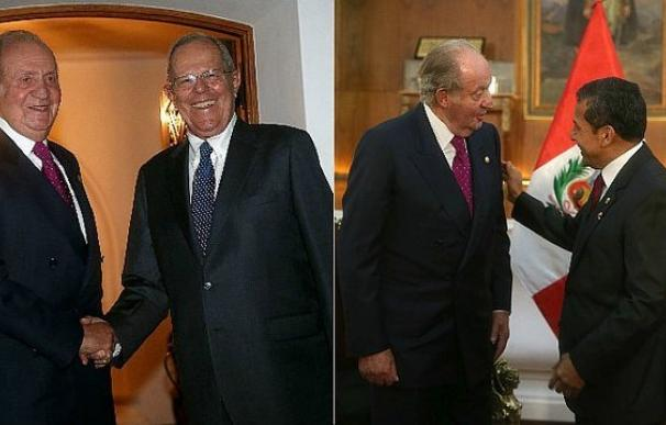 Juan Carlos I y Ollanta Humala