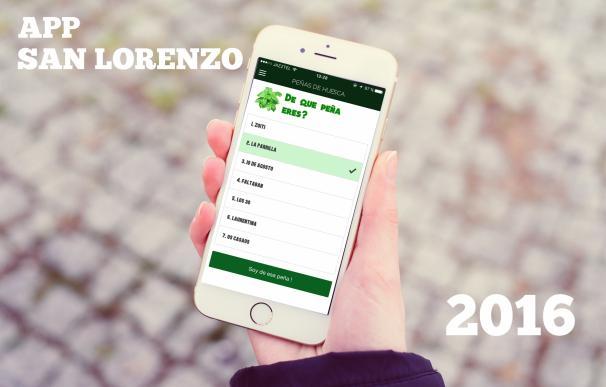 La empresa Tiltac desarrolla la aplicación de las Fiestas de San Lorenzo 2016