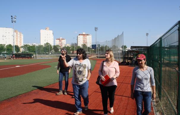 IU pide a Espadas que deje utilizar al Sevilla Club de Béisbol el centro deportivo de Amate en agosto