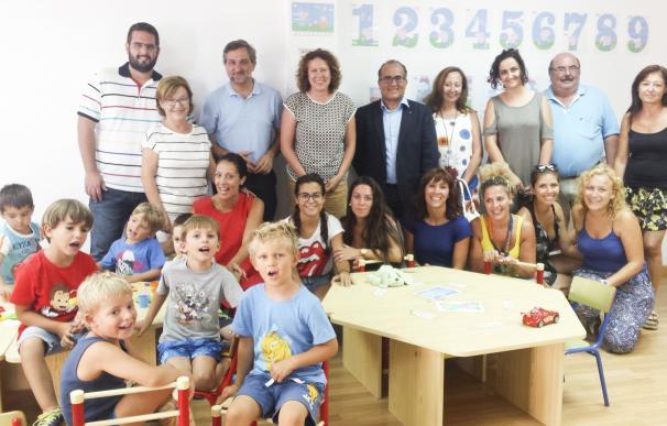 """La Escuela de Verano de Garrucha se consolida como """"herramienta de conciliación familiar"""""""