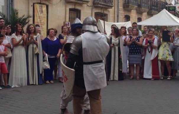 Más de 6.000 asistentes al Festival de la Encomienda de Chiclana de Segura, que finaliza este domingo