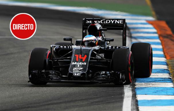 GP de Alemania, en directo: Alonso y Sainz apelan a una buena salida y a la lluvia
