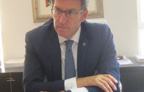"""Feijóo, seguro de que Galicia superará el 2,8% de crecimiento y quedará """"por debajo"""" del objetivo de déficit en 2016"""