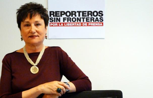 """Malén Aznárez, presidenta de RSF España: """"Es difícil exigir buena información cuando no estamos dispuestos a pagarla"""""""