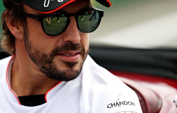 """Alonso: """"Estoy muy contento con la primera parte de la temporada"""""""