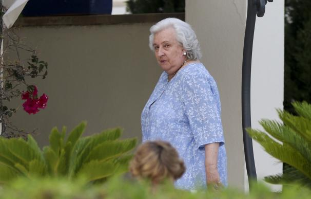 Doña Pilar celebra su cumpleaños en Mallorca